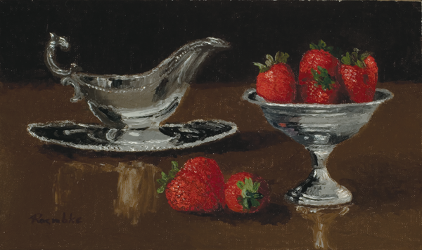 Strawberries with Silver